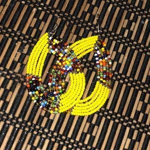 Handmade South African earrings